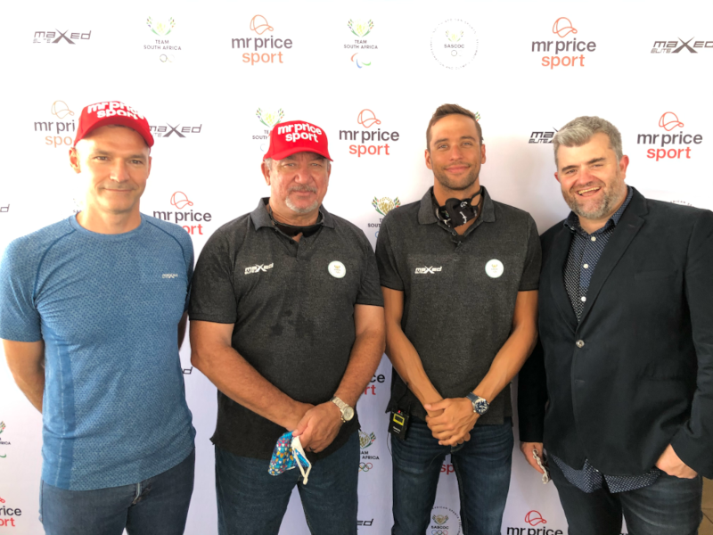 Mr Price Sport and Team South Africa going for gold in Flash Sponsorship brokered deal